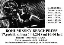 17. ročník Bohumínského benchpressu