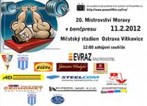 20. Mistrovství Moravy v benčpresu mužů a žen