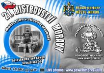 21. Mistrovství Moravy v silovém trojboji mužů a žen