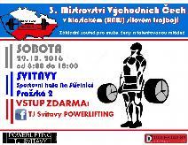 3. Mistrovství Východních Čech v klasickém (RAW) silovém trojboji