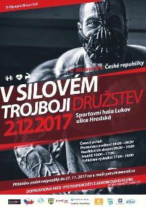 4. Mistrovství ČR v silovém trojboji družstev