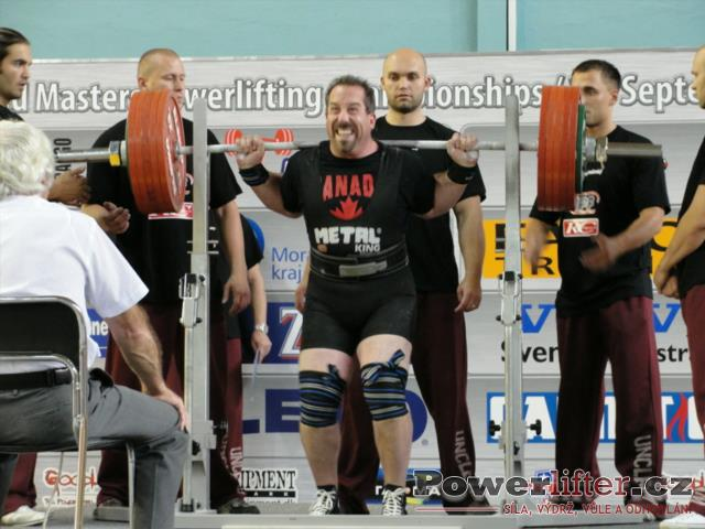 Andy Childs, CAN, 297,5kg