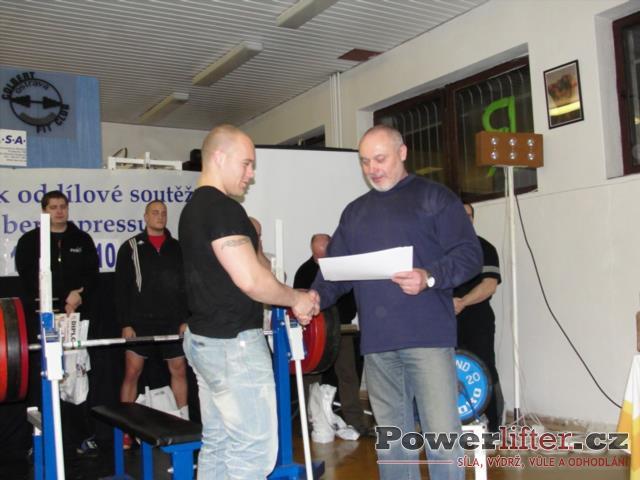 Antonín Pavlovec - 3. místo (muži)