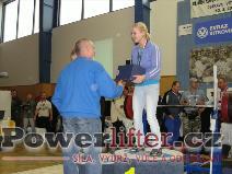 Daniela Poláková - 1.místo do 56kg