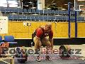 David Lupač, mrtvý tah 320kg