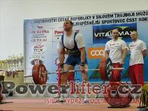 David Sluštík, 267,5kg