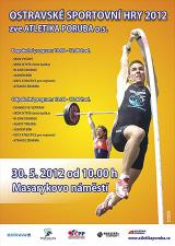 Pozvánka na Ostravské sportovní hry 2012, Masarykovo náměstí