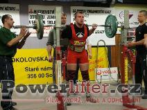 Jan Grézl, 135kg