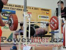 Jan Pinc, benč 240kg