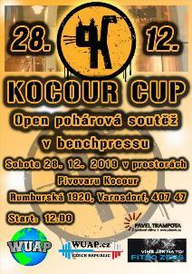 KOCOUR CUP 2019 - OPEN POHÁROVÁ SOUTĚŽ V BENCHPRESSU