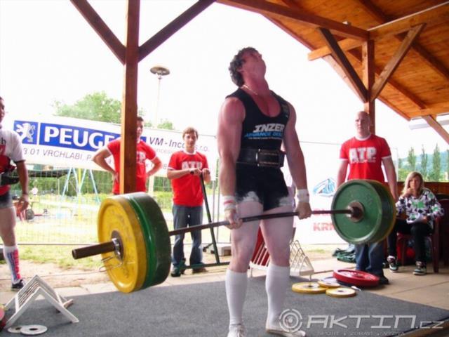 Lukáš Borůvka, 250kg