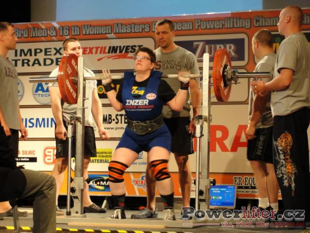 Maria Walter, GER, 132,5kg