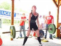 Martina Daher, 125kg