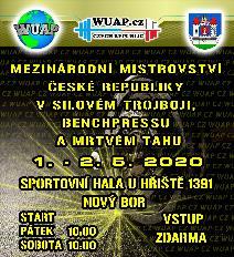 Mezinárodní Mistrovství České republiky v silovém trojboji, benchpressu a mrtvém tahu