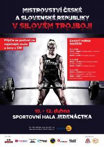 Mistrovství ČR a SR v silovém trojboji