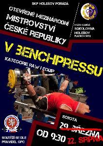 Otevřené Mezinárodní Mistrovství ČR v benchpressu