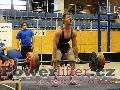 Patrik Přibyl, mrtvý tah 280kg