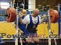 Pavel Župka, dřep 282,5kg