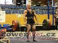 Pavel Župka, mrtvý tah 287,5kg