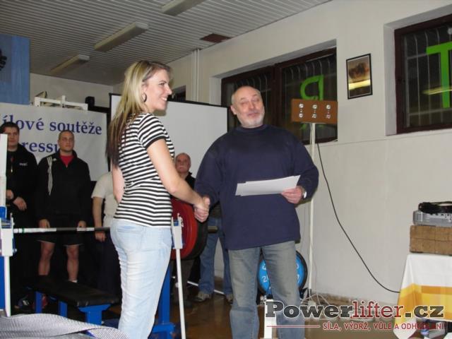 Pavla Nytrová - 3. místo (ženy)