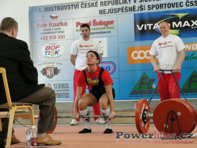 Petra Ličková, 130kg
