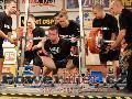 Petteri Hakkarainen, FIN, dřep 235kg, muži M1 do 90kg