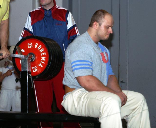 Radim Kala - 2. místo nad 100kg