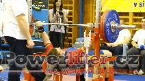 Patrik Navara, 167,5kg