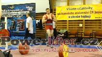 Patrik Navara, 255kg