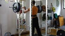 Dřep 103kg, 1.série