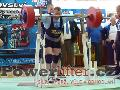 Jiří Gryga, dřep 290kg, český rekord M1 do 105kg