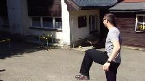 Instruktáž běhu přes překážky