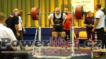 Stanislav Balvín, dřep 345kg