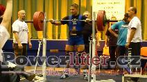 Petr Vlach, dřep 245kg