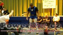 Petr Vlach, mrtvý tah 277,5kg