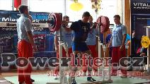 Petr Vlach, dřep 250kg