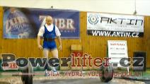 Karel Sazma, 245kg, extra pokus
