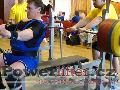 Zoltán Kanát, benč 250kg, český rekord M2 do 120kg