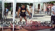 Jan Žvak, 300kg