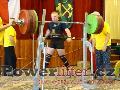 Tomáš Turek, dřep 286kg, rekord ČR dorostu do 105kg