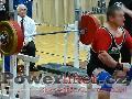 Milan Greguš, benč 212,5kg, muži do 105kg