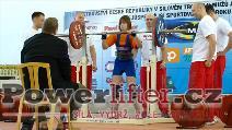 Markéta Kovrzková, 117,5kg