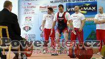 Petr Krošlák, 265kg