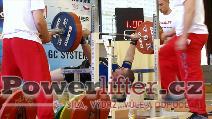 David Lupač, 215kg