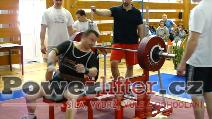 Jiří Kati, 245kg, pokus o český rekord do 90kg