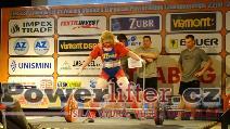 Eva Buxbom, DEN, 167,5kg