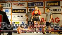Jaroslav Hodík, CZE, 210kg