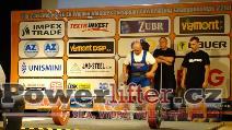 Libor Burýšek, CZE, 245kg