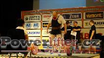 Jiří Lacina, CZE, 245kg