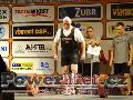 Karel Schoř, CZE, mrtvý tah 250kg bez pásku, muži M2 do 82,5kg